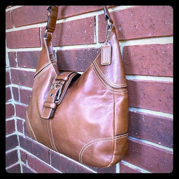 Coach Handbags - Coach - Leather Hobo